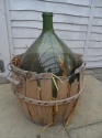 C1900 demi john with basket - picture 2