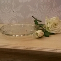 Vintage glass cake stand - picture 2