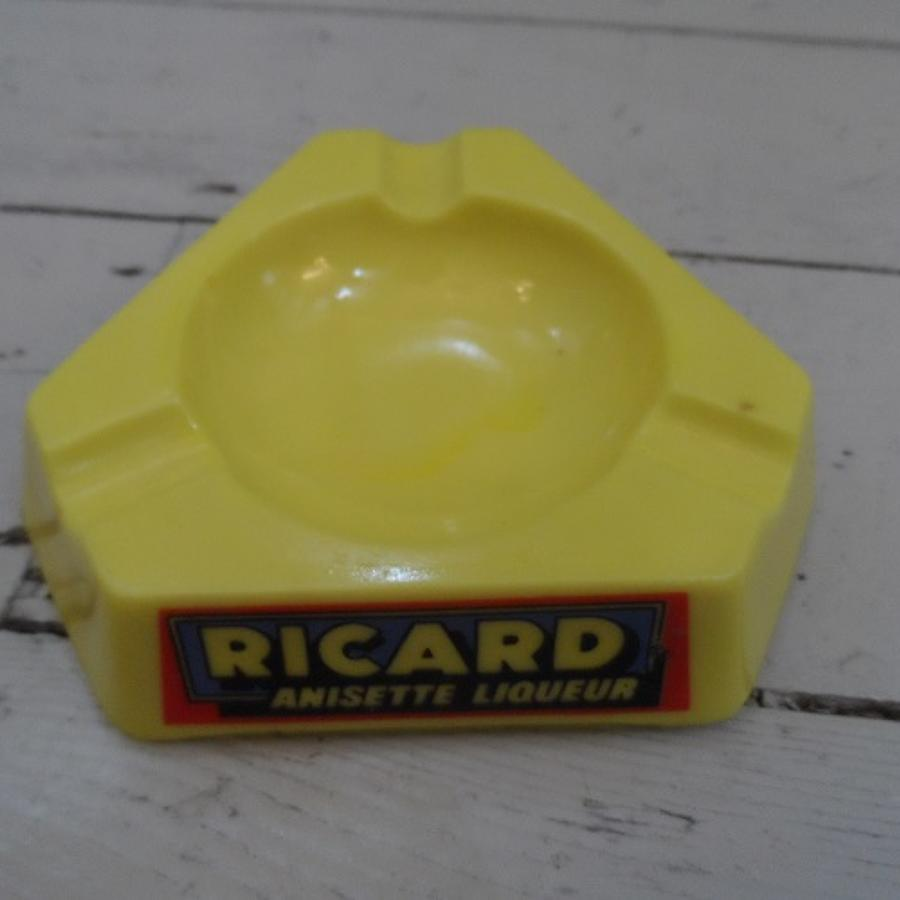 Ricard opalex glass ash tray