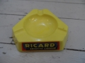 Ricard opalex glass ash tray - picture 1