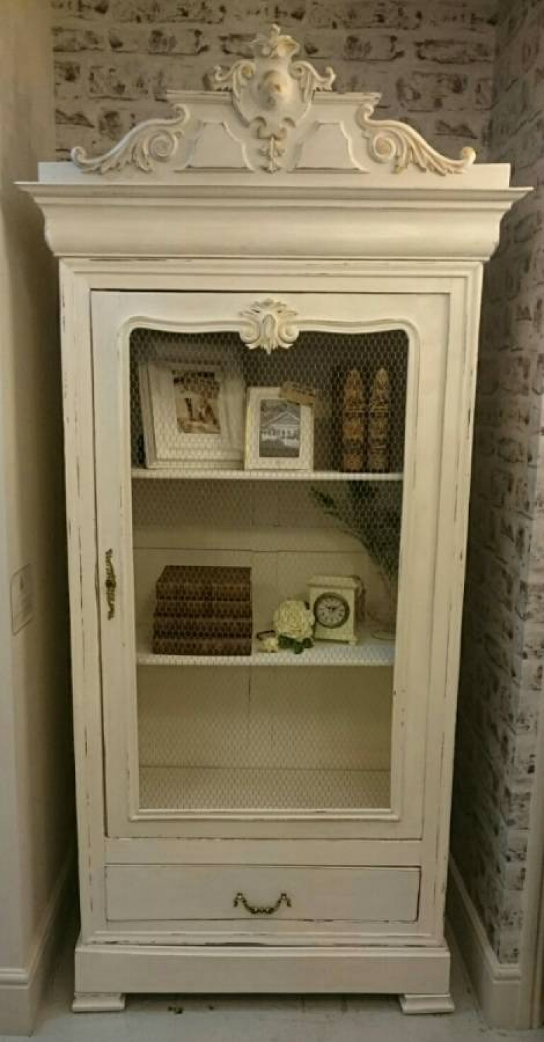 C1900 French Dresser/wardrobe/Bookcase