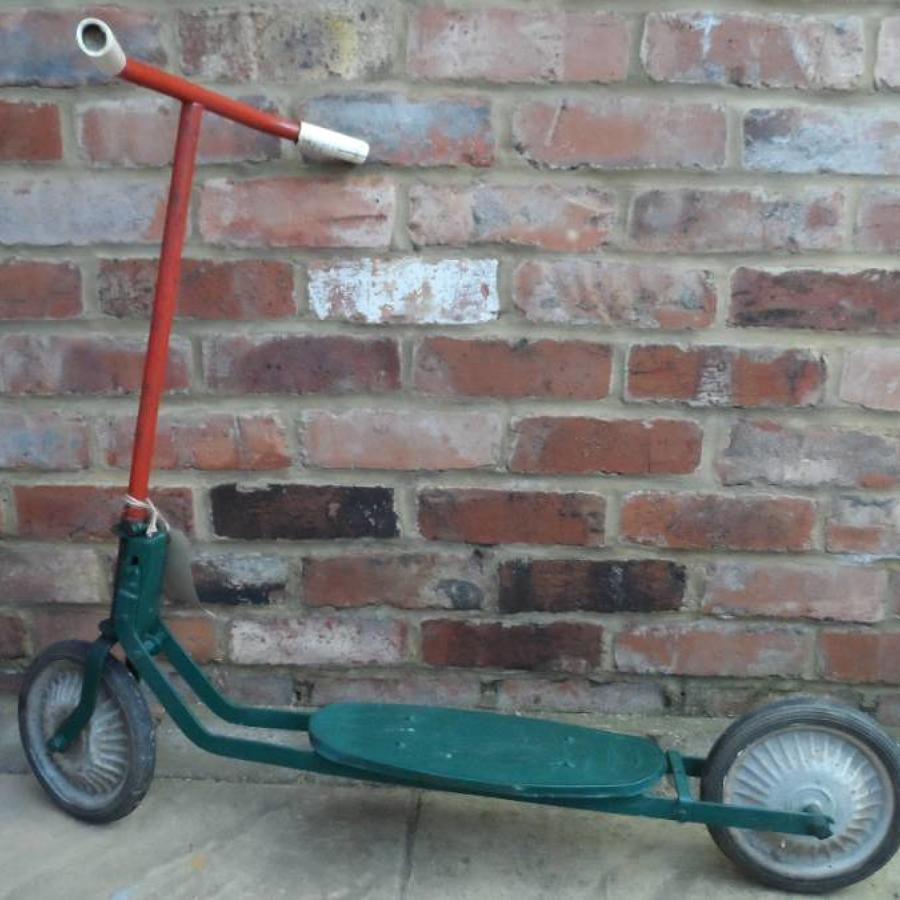 C1950 green scooter