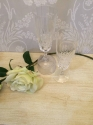 Pair of crystal champagne flutes - picture 3