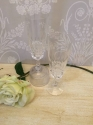 Pair of crystal champagne flutes - picture 4