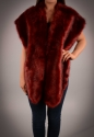 Faux fur stole - picture 2