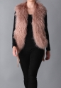 Mongolian lambs wool fur gilet - picture 4