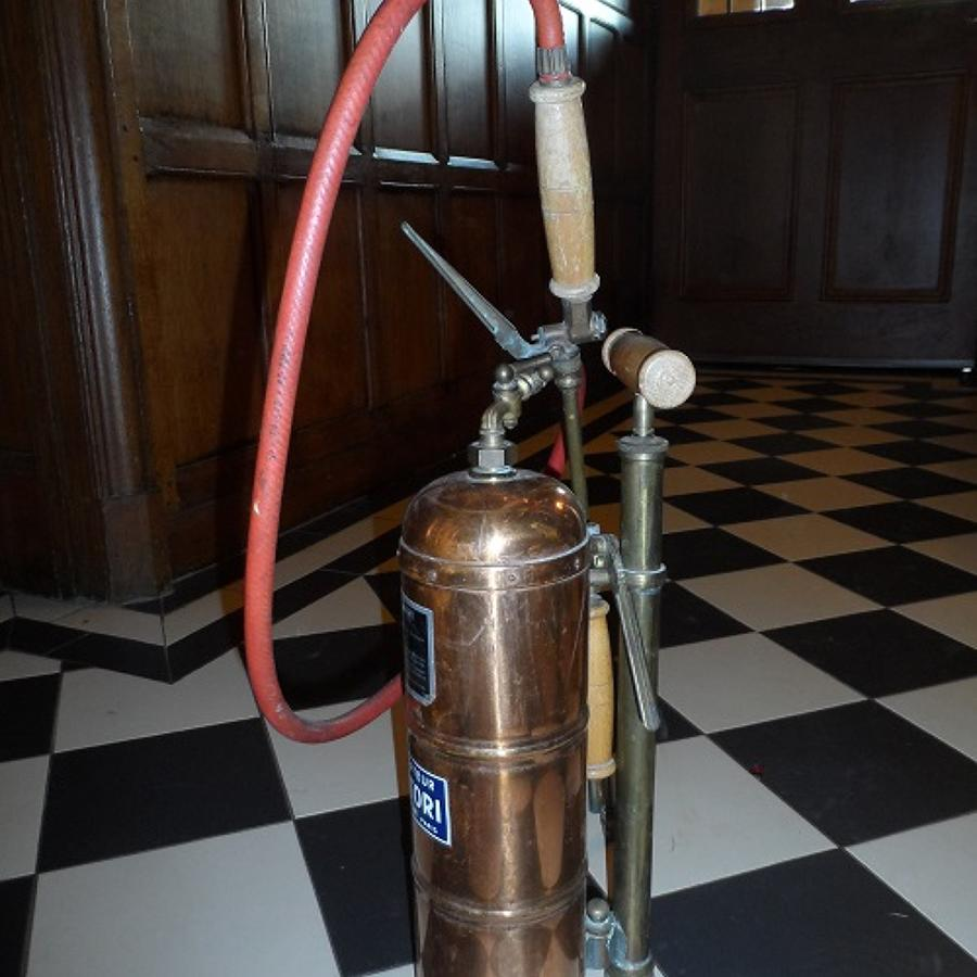 Vintage copper insect spray