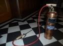 Vintage copper insect spray - picture 4
