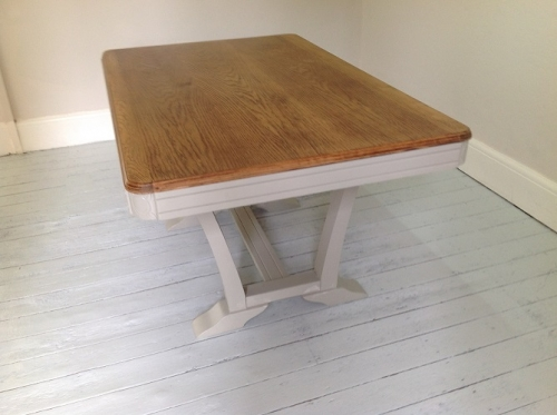 Vintage French Art Deco dining table