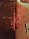 Vintage leather suitcase - picture 3