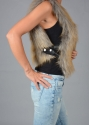 Faux fur gilet - picture 2