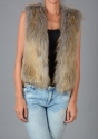 Faux fur gilet - picture 3