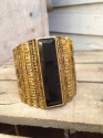 Chunky gold cuff. Spanish collection - picture 2