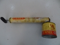 Vintage sprayer with advertising print - picture 3