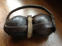 Petanque balls with leather case - picture 1