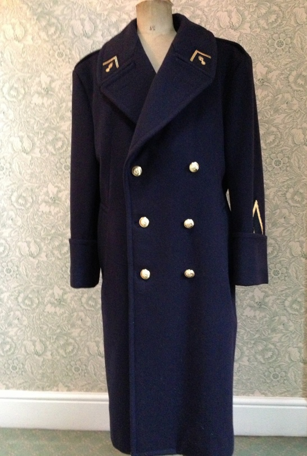 1997 French Gendarme Peacoat