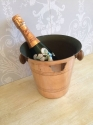 Vintage French copper champagne bucket - picture 3