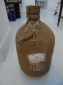 Vintage French jute covered demi john - picture 1