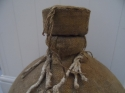 Vintage French jute covered demi john - picture 2