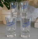 Set of 4 Marie Brizard shot glasses - picture 1