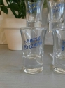Set of 4 Marie Brizard shot glasses - picture 2