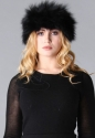 Fox fur headband - picture 1