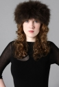 Fox fur headband - picture 2