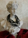 Spanish acrylic multi chain necklace - picture 2