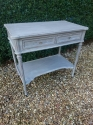 Vintage two drawer Louis XVI style console - picture 2