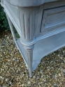 Vintage two drawer Louis XVI style console - picture 3