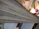 Antique C1900 French painted wardrobe - picture 4
