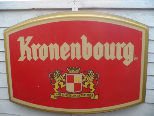 Kronenburg fibreglass sign