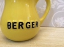 Small yellow vintage Berger jug - picture 2