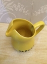 Small yellow vintage Berger jug - picture 3