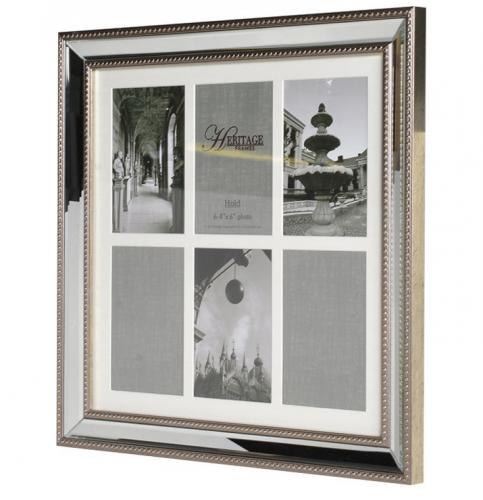6x mounted 4x6 venetian photo frame
